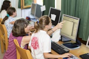 Heinrich-Grupe-Schule – Computerarbeit